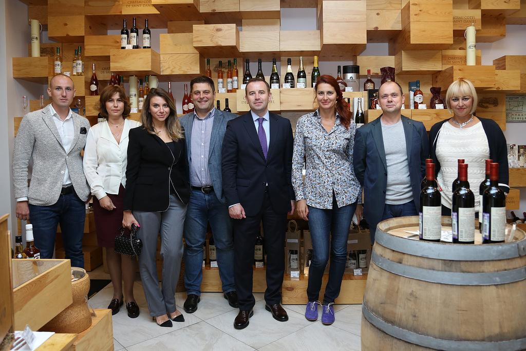 Дегустация для Skolkovo Wine Club